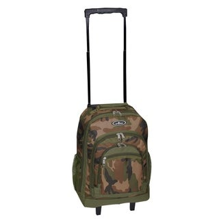 Everest 18-inch Pattern Wheeled Backpack