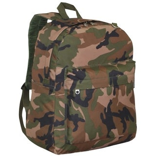 Everest 16.5-inch Classic Woodland Camo Backpack