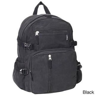 Everest Canvas Compression Backpack