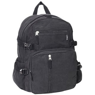 Everest Canvas Compression Backpack