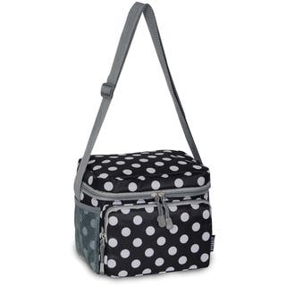 Everest Black and White Polka Dot Shoulder Lunch Tote https://ak1.ostkcdn.com/images/products/10421957/Everest-Black-and-White-Polka-Dot-Shoulder-Lunch-Tote-P17521200.jpg?impolicy=medium