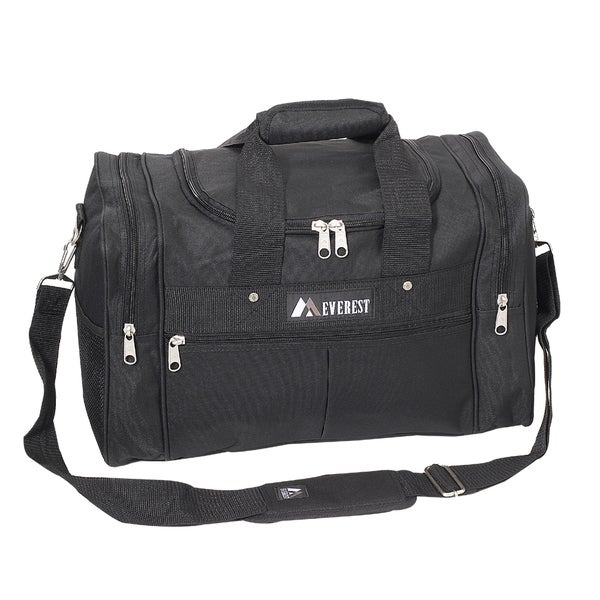 Shop Everest 17.5-inch Carry On Black Travel Gear Duffel Bag - Free ... e4d9be83b6e