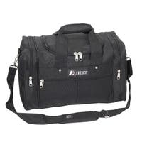 Everest 17.5-inch Carry On Black Travel Gear Duffel Bag
