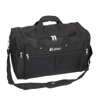 Everest 21-inch Carry On Black Travel Gear Duffel Bag