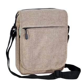 Everest Tablet Utility Messenger Bag (Option: Beige)