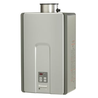 Rinnai Tankless Water Heater (Internal 199k Btu 9.4gpm max w/Valve) RL94iN Silver