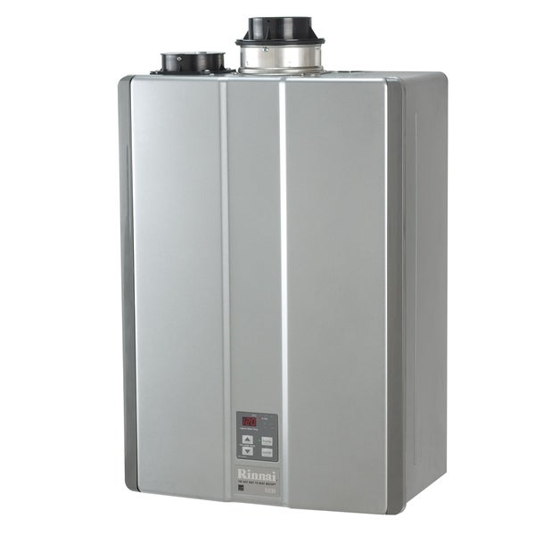 shop rinnai tankless water heater int ctwh 157k btu max w valve ruc80in silver free. Black Bedroom Furniture Sets. Home Design Ideas