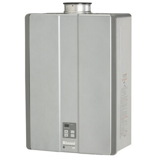 Rinnai Propane Ultra Int Ctwh 199k BTU 9.8GPM Max with Valve Tankless Water Heater RUC98iP