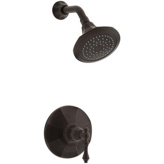 Kohler Kelston 1-handle Rite Temp Shower Faucet Trim Kit in Oil-rubbed Bronze (valve not included)