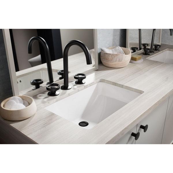 "Kohler Ladena® 20-7/8"" X 14-3/8"" X 8-1/8"" Undermount Bathroom Sink White (K-2214-0)"