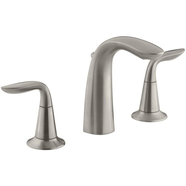 Kohler Refinia 8 Inch Widespread Bathroom Sink Faucet In Brushed Nickel Free Shipping Today
