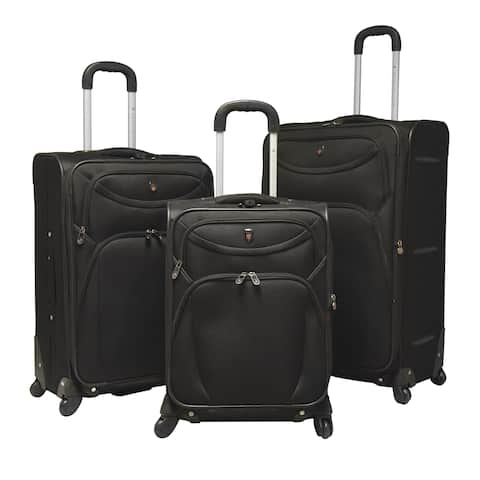 41502c9a5d3 Traveler's Club Cypress 3-piece Expandable Spinner Luggage Set - 29
