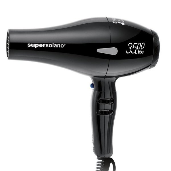 18abae7241 Shop Solano Supersolano 3500 Lite Professional Hair Dryer - Free Shipping  Today - Overstock - 10422214
