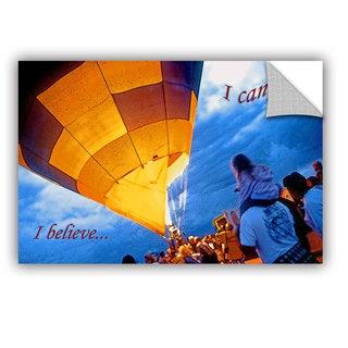 ArtAppealz Linda Parker 'I Believe I Can Fly' Removable Wall Art