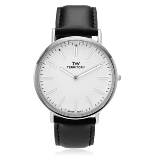 Territory Men's Round Face Strap Watch