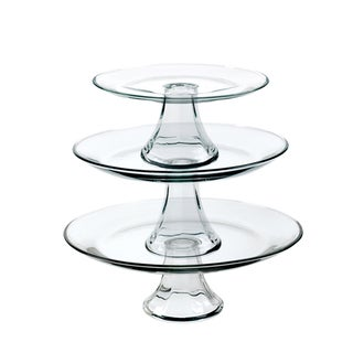 Anchor Hocking Presence 3-Tier Platter Set