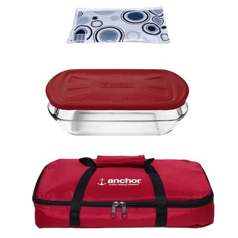 Anchor Hocking 4-piece Essentials Bake Set