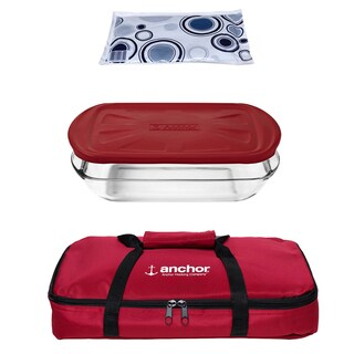 Anchor Hocking 4-piece Essentials Bake Set