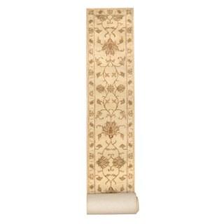 Herat Oriental Indo Hand-tufted Tibetan Wool Rug (2'8 x 25'10)