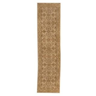 Herat Oriental Indo Hand-tufted Mahal Wool Runner (2' x 7'10)