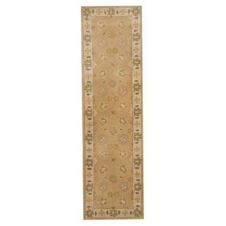 Herat Oriental Indo Hand-tufted Mahal Wool Runner (2'3 x 8'1)