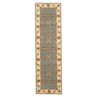 Handmade Herat Oriental Indo Mahal Wool Runner (India) - 2'4 x 8'2