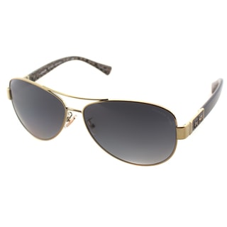 e9480b38347c Shop Coach Womens HC 7047 L103 Christina 9201/T3 Aviator Polarized  Sunglasses - Free Shipping Today - Overstock - 10422393