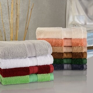 Superior Soft, Absorbent Rayon from Bamboo and Cotton Face Towel (Set of 2)