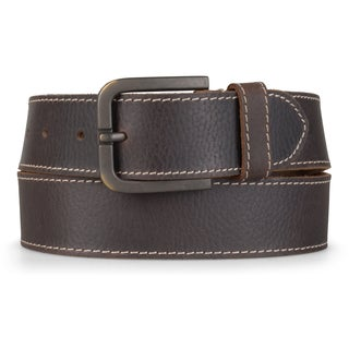 Timberland Men's 40MM Oily Milled Genuine Leather Belt