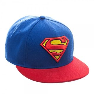 Superman Classic Blue/ Red Baseball Cap