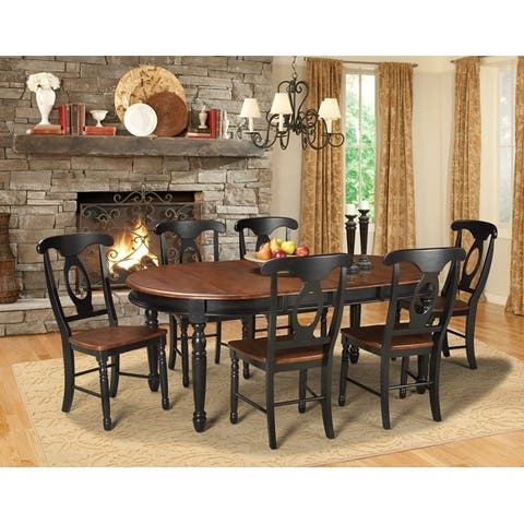 Simply Solid Emeline Solid Wood 5-piece Dining Collection