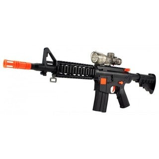 YK Night Hawk M16+ Spring Toy Dart /Gel Ball Airsoft Gun