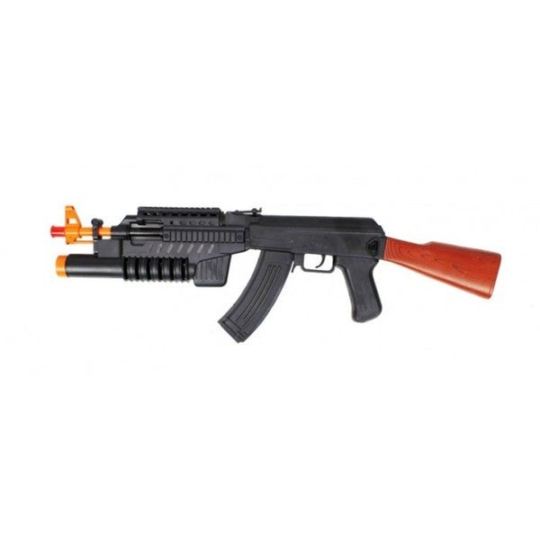 Shop Velocity Toys Ak 47 Lights And Sounds Electronic Toy