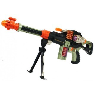 Velocity Toys Sharp Shooter Bipod Electronic Toy Gun