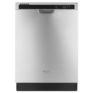 Shop Whirlpool Full Console Dishwasher With 5 Wash Cycles