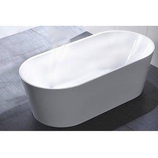 """MTD Vanities Laguna 60"""" Acrylic Free Standing Tub"""