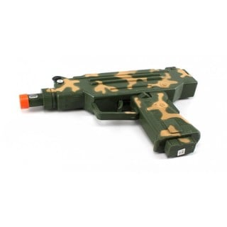Velocity Toys Camo Combat Uzi SMG Electronic Toy Gun