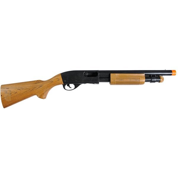 Velocity Toys 30-inch Electronic Sounds Pump Action Shotgun Toy with Ejecting Shells