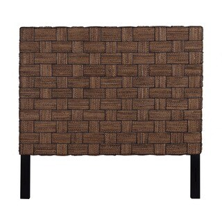 East At Main's Mead Natural Rustic Abaca Queen Headboard