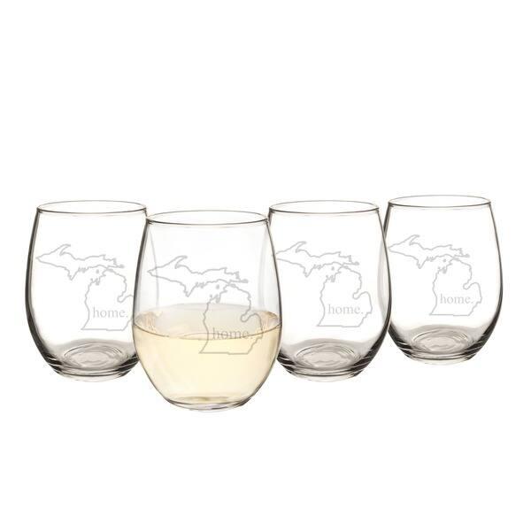 Pint Glasses Home State Apparel Set of 4 South Dakotahome