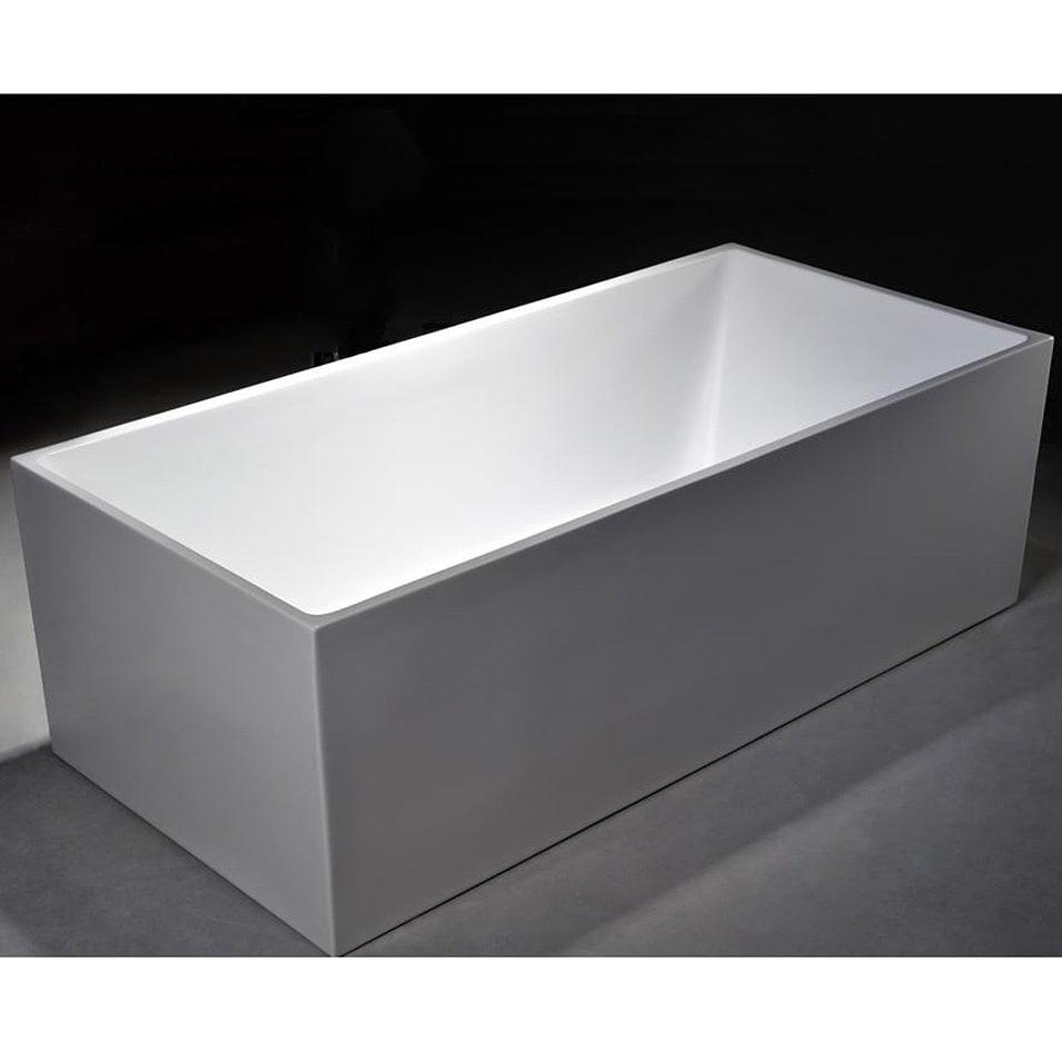 "MTD Vanities Long Beach 60-inch Freestanding Bathtub (60""..."