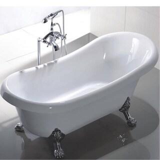 MTD Vanities Manhattan 63-inch Acrylic Free Standing Tub
