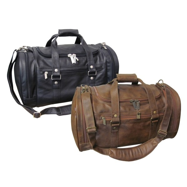 Shop Amerileather 22-inch Jumbo Carry-on Duffel Bag - Free Shipping ... a8cb16f4c7