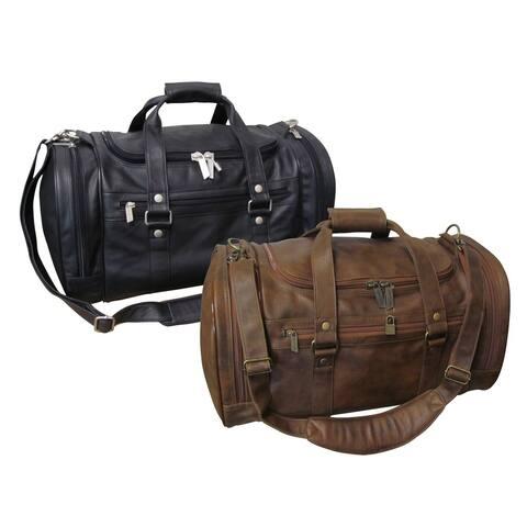 Amerileather 22-inch Jumbo Carry-on Duffel Bag
