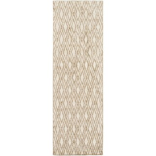 Hand-woven Gosport Geometric Rug (2'6 x 8')