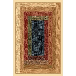 Renaissance Faded Color Block Area Rug - 2 x 7'7