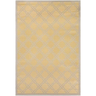 Couristan Five Seasons Sun Island/ Gold-Cream Rug (7'10 x 10'9)