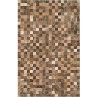 Couristan Chalet Pixels/ Brown Rug (8' x 11'4)