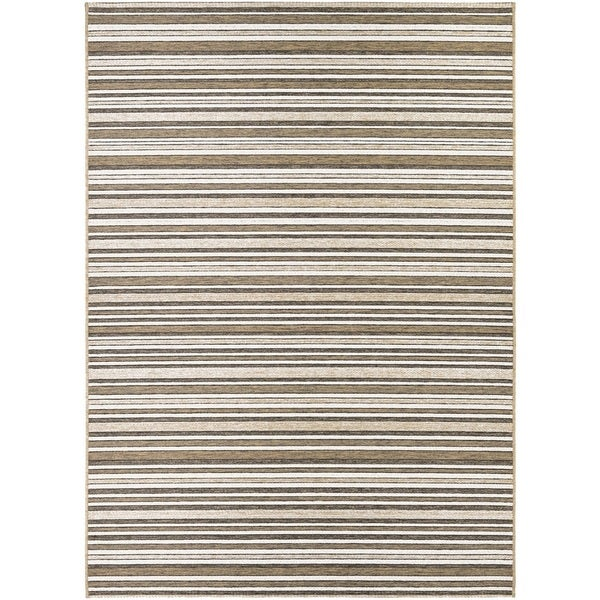 "Couristan Cape Brockton/ Light Brown-Ivory Rug (7'10 x 10'9) - 7'10"" x 10'9"""