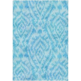 Couristan Sagano Mystic Haze/ Azure Rug (9'6 x 13'6)